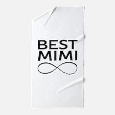 BEST MIMI EVER Beach Towel