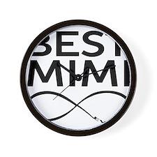 BEST MIMI EVER Wall Clock