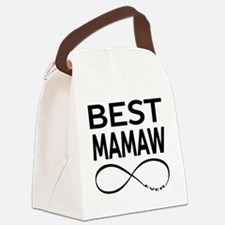 BEST MAMAW EVER Canvas Lunch Bag