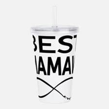BEST MAMAW EVER Acrylic Double-wall Tumbler