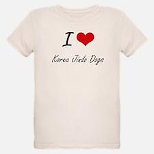 I love Korea Jindo Dogs T-Shirt