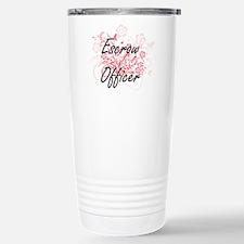 Escrow Officer Artistic Travel Mug