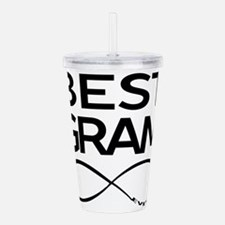 BEST GRAM EVER Acrylic Double-wall Tumbler