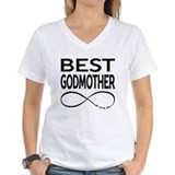 Godmother Womens V-Neck T-shirts