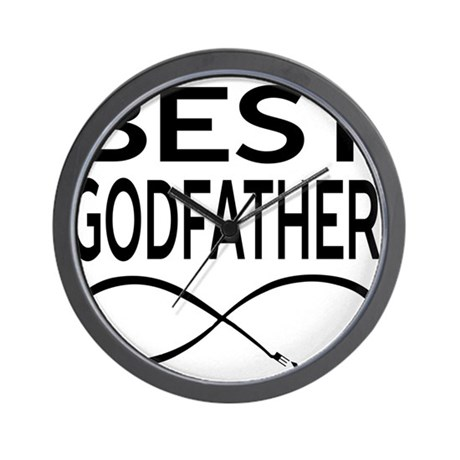 Best Godfather Ever Wall Clock By Bmadesign