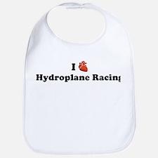 I (Heart) Hydroplane Racing Bib