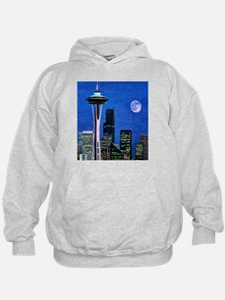 Blue Seattle Hoodie