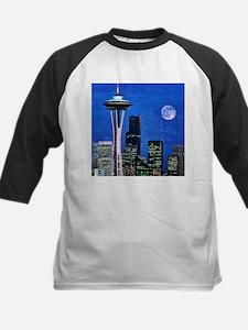 Blue Seattle Baseball Jersey