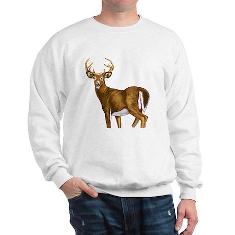 American White Tail Deer Buck Sweatshirt