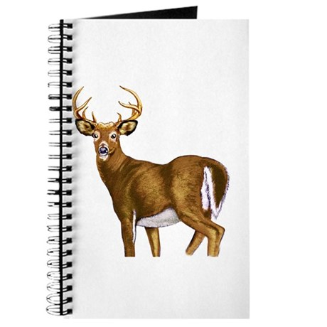 American White Tail Deer Buck Journal