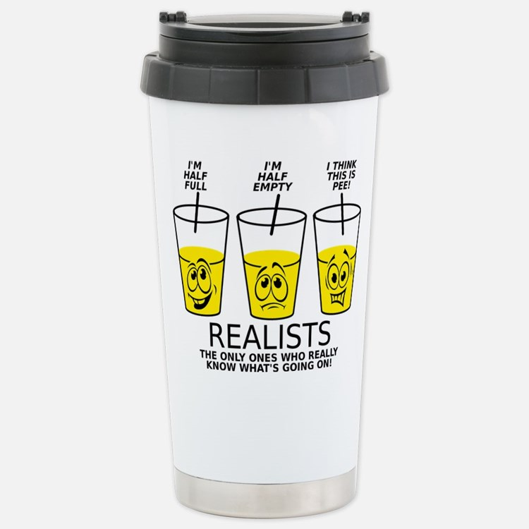 Glass half empty coffee mugs glass half empty travel mugs cafepress - Two and a half men coffee mug ...