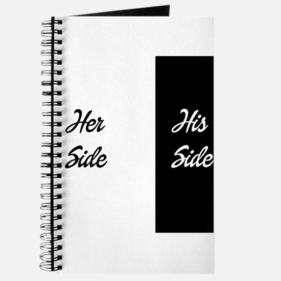 Her side/ his side Journal