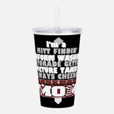 Baseball Mom Acrylic Double-wall Tumbler