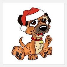 Border Terrier Dog 5.25 X Flat Cards Invitations