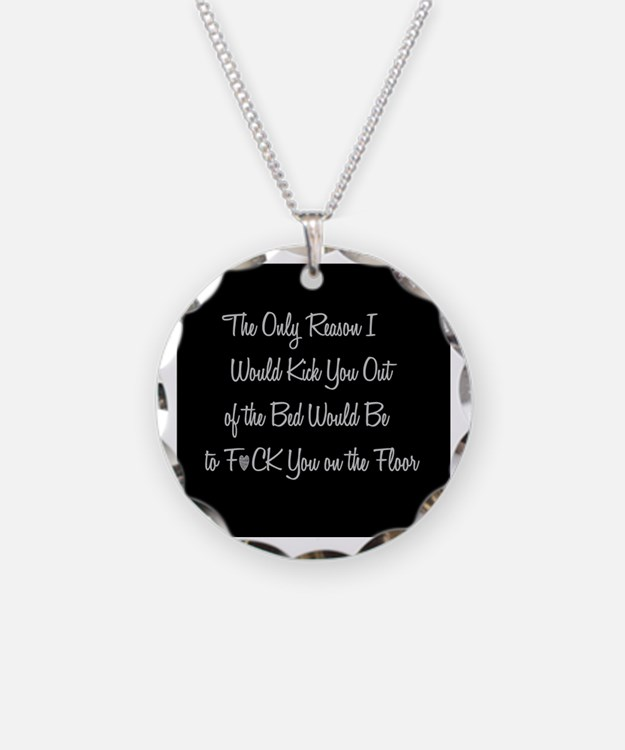 Naughty: F*ck on the floor Necklace