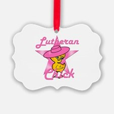 Lutheran Chick #8 Ornament