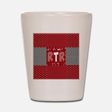 RTR houndstooth Shot Glass