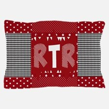 RTR houndstooth Pillow Case