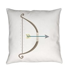 Bow and Arrow Everyday Pillow