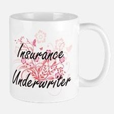 Insurance Underwriter Artistic Job Design wit Mugs
