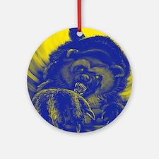 Wolverine Enraged Round Ornament