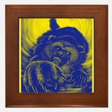 Wolverine Enraged Framed Tile