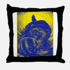 Wolverine Enraged Throw Pillow