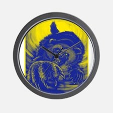 Wolverine Enraged Wall Clock