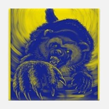 Wolverine Enraged Tile Coaster