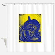 Wolverine Enraged Shower Curtain
