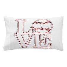 Love Baseball Classic Pillow Case