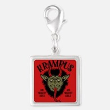 Krampus Face Naughty Charms