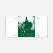 Hoplite Warrior Aluminum License Plate