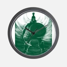 Hoplite Warrior Wall Clock