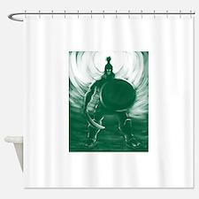 Hoplite Warrior Shower Curtain