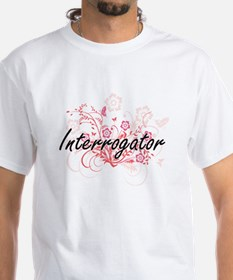 Interrogator Artistic Job Design with Flow T-Shirt