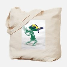 Hoplite vs. Wolverine Tote Bag