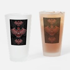 Eagle Tattoo Style Haida Art Drinking Glass
