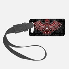 Eagle Tattoo Style Haida Art Luggage Tag