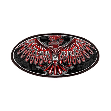 eagle tattoo style haida art patch by bluedarkartgifts. Black Bedroom Furniture Sets. Home Design Ideas