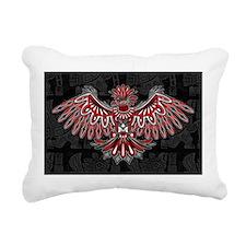 Eagle Tattoo Style Haida Art Rectangular Canvas Pi