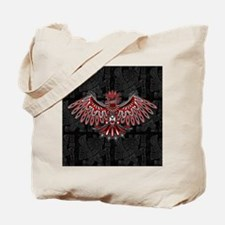 Eagle Tattoo Style Haida Art Tote Bag