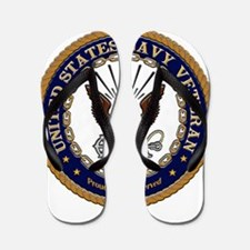 US Navy Veteran Proud to Have Served.png Flip Flop