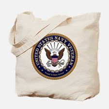 US Navy Veteran Proud to Have Served.png Tote Bag