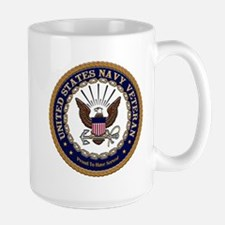 US Navy Veteran Proud to Have Served.png Mugs