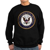 Navy veteran Sweatshirt (dark)