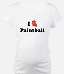 I (Heart) Paintball Shirt