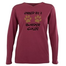 Animals border collie dogs Plus Size Long Sleeve Tee