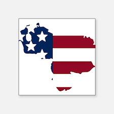 Venezuelan American Sticker