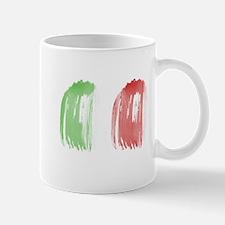 Brush Flag of Mexico Mugs